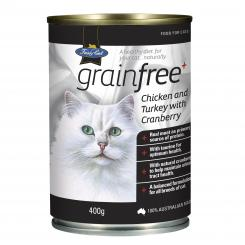 Fussycat Chicken Turkey Cranberry 400g